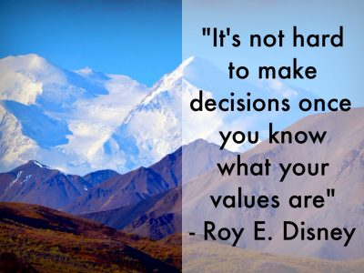 Holding True to Your Values Is an Essential Decision-Making Metric