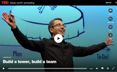 Build a tower, build a team