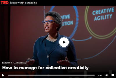 How to manage for collective creativity