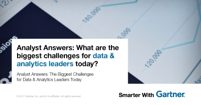 The Biggest Challenges for Data & Analytics Leaders Today