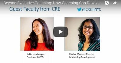 How Coaching Can Develop the Next Generation of Leadership