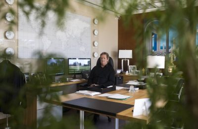 Meditation Brings Calm to CEOs