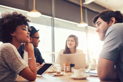 Can work best friends help business?