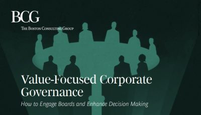 Value-Focused Corporate Governance