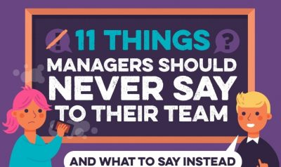 11 Things Leaders Should Never Say to Teams