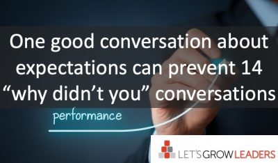 How to Hold a Better Performance Improvement Conversation